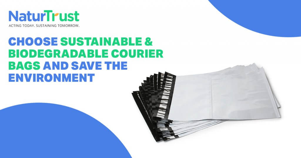 biodegradable courier bags