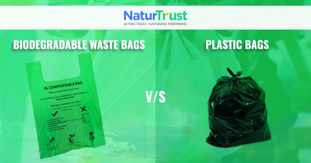 biodegradable pet waste bags